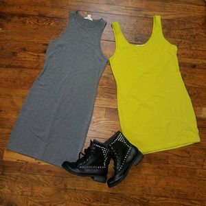 2 for 1 New Large Bodycon Tank Dresses